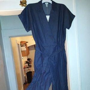 Womens Blue Jumpsuit.